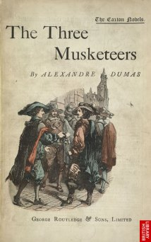 Image result for the three musketeers book first edition